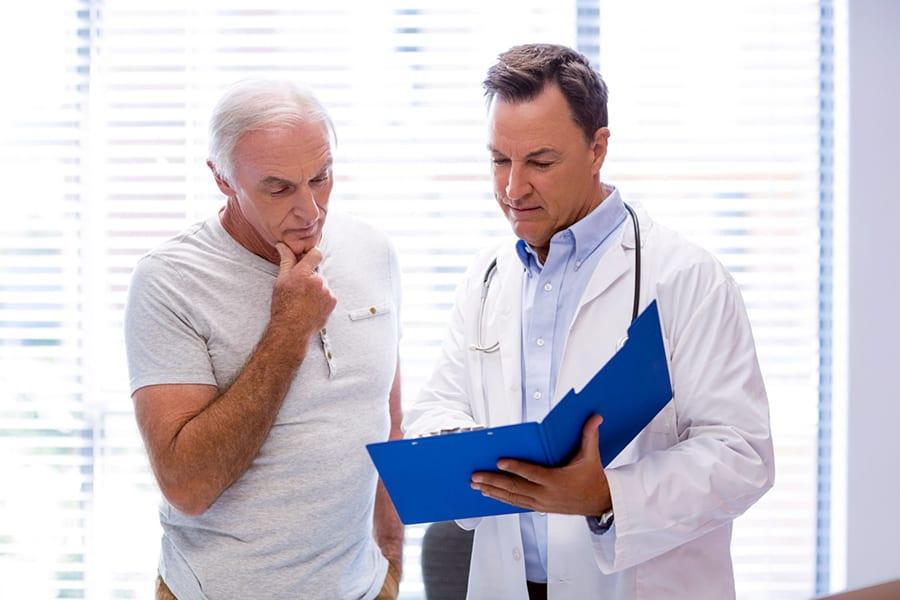 Аденома простаты — увеличение предстательной железы