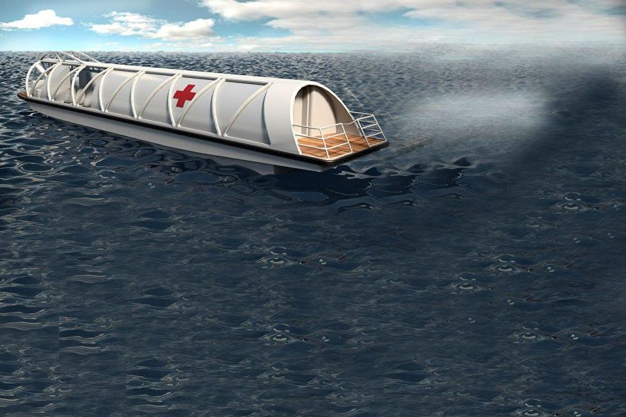 Скорая помощь придет по воде