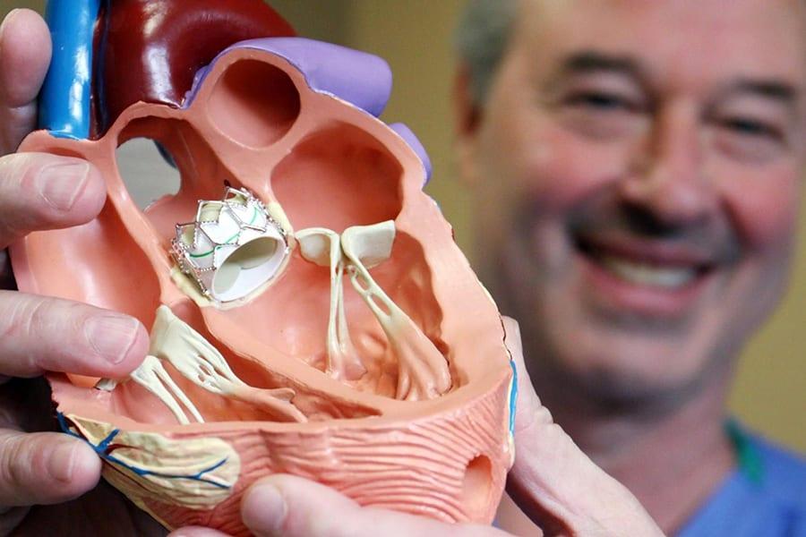Новый сердечный клапан устанавливается за 15 минут