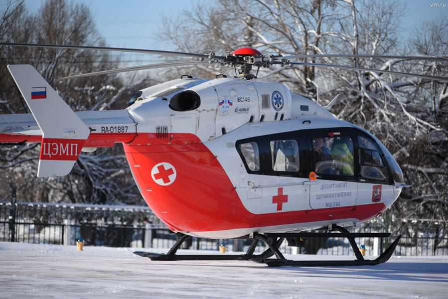Питерские медики обзавелись вертолетами