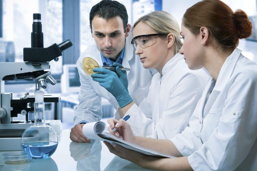 Исследование мочи в лаборатории