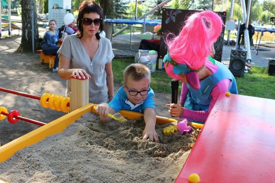 Новый парк для детей с ограниченными возможностями