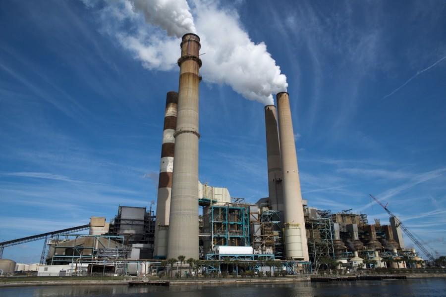 Промышленные загрязнения воздуха