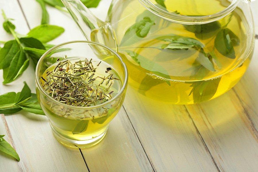 Зеленый чай убивает бактерий