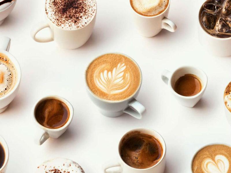 Большое количество кофе