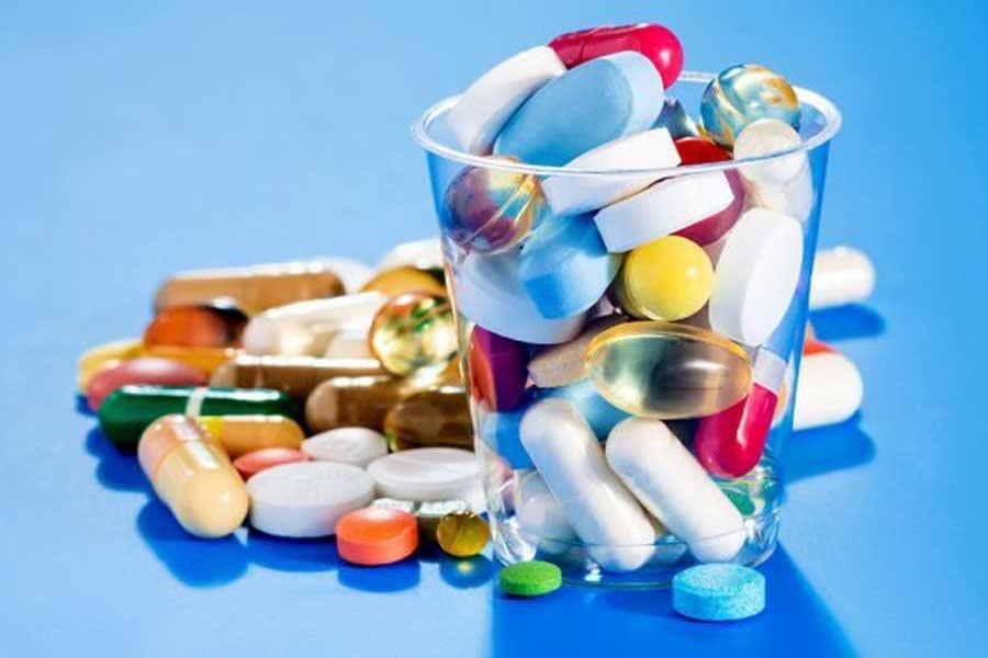 Большое количество лекарств