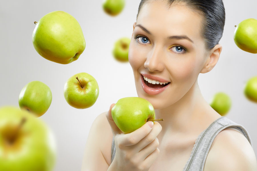 Два яблока в день снижают уровень холестерина  и благотворно влияют на сосуды