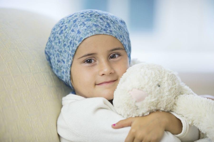 Ребенок с лейкозом