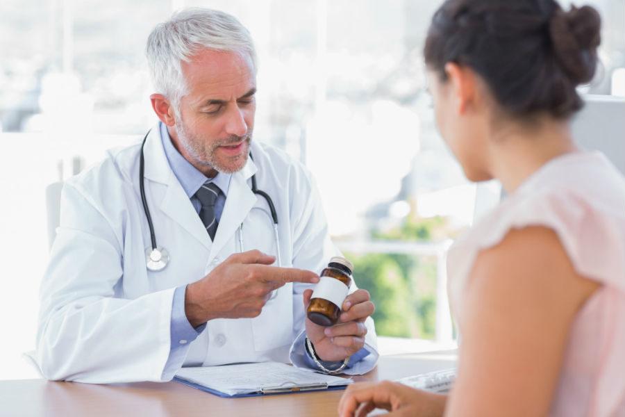 Назначение курса таблеток