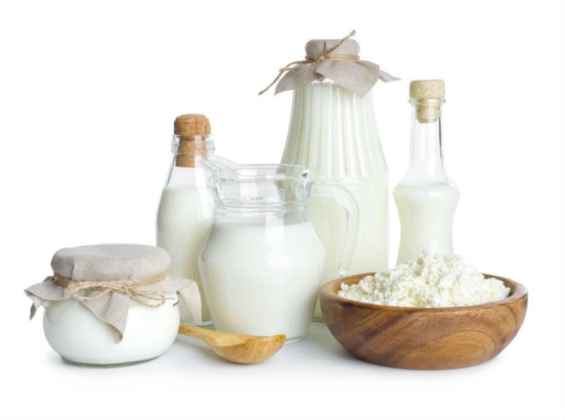 Белок в молочных продуктах
