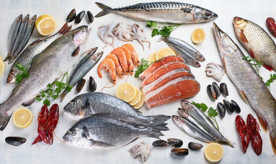 Полиненасыщенные кислоты в морской рыбе