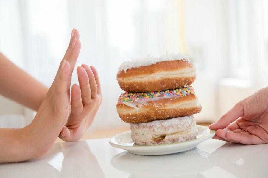 Употребление меньшего количества сладостей