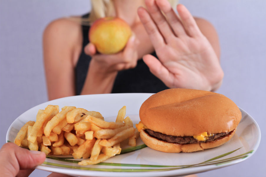 Отказ от жирных и жареных блюд