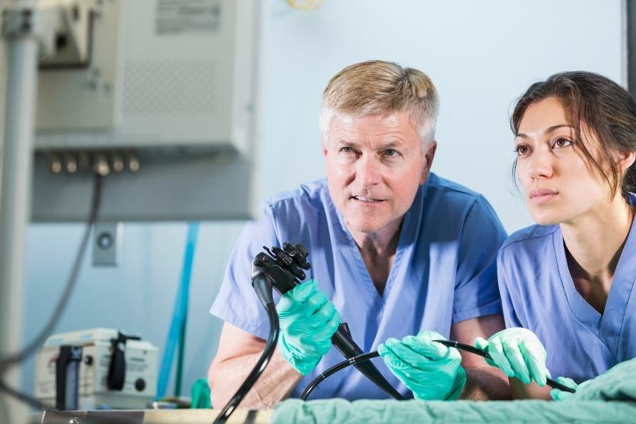 Обеззараживание эндоскопического оборудования перед обследованием ЖКТ